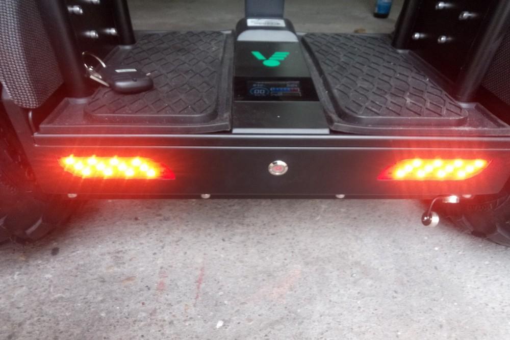 Światła w VELEX OFF-ROAD X1 V1 - pojazd typu segway