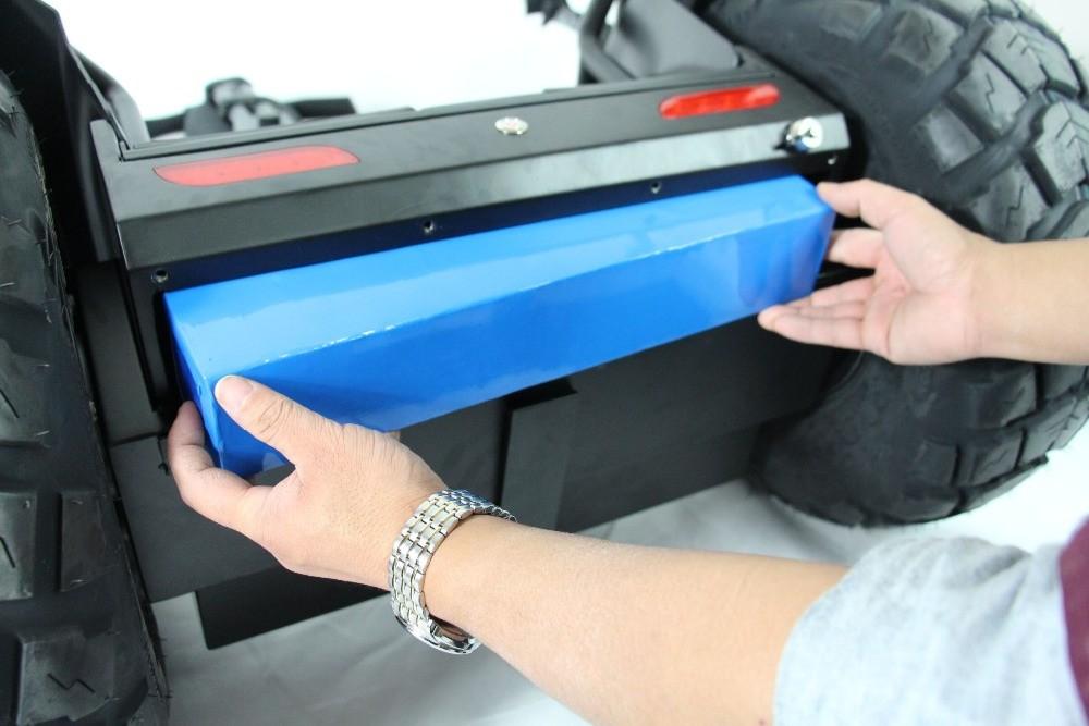 Wymienna bateria w VELEX OFF-ROAD X1 - pojazd typu segway
