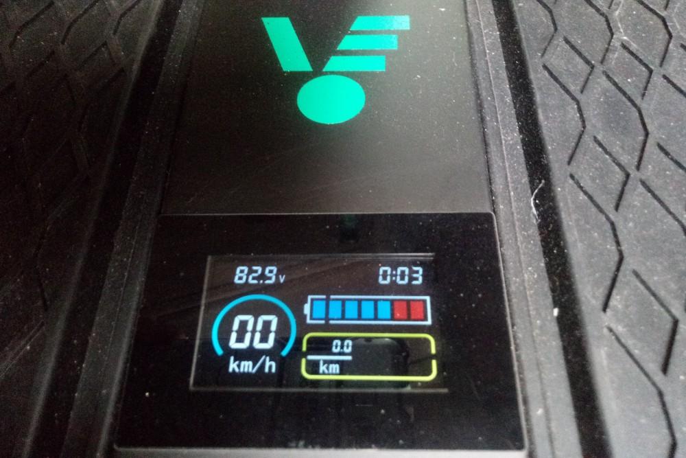 Wyświetlacz LCD w VELEX OFF-ROAD X1 - typu segway