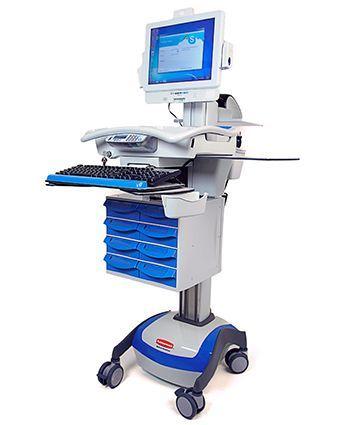 Wózek medyczny CyberMED CM-DC AMP 55