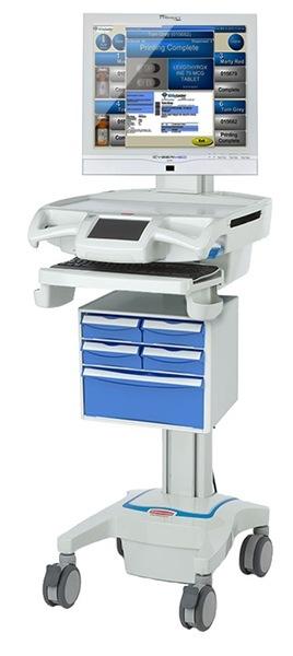 Wózek medyczny CyberMED CM-DC RX LCD