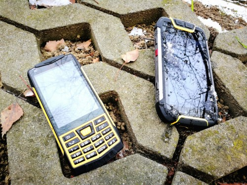 Recenzja RUGGED PHONES A1
