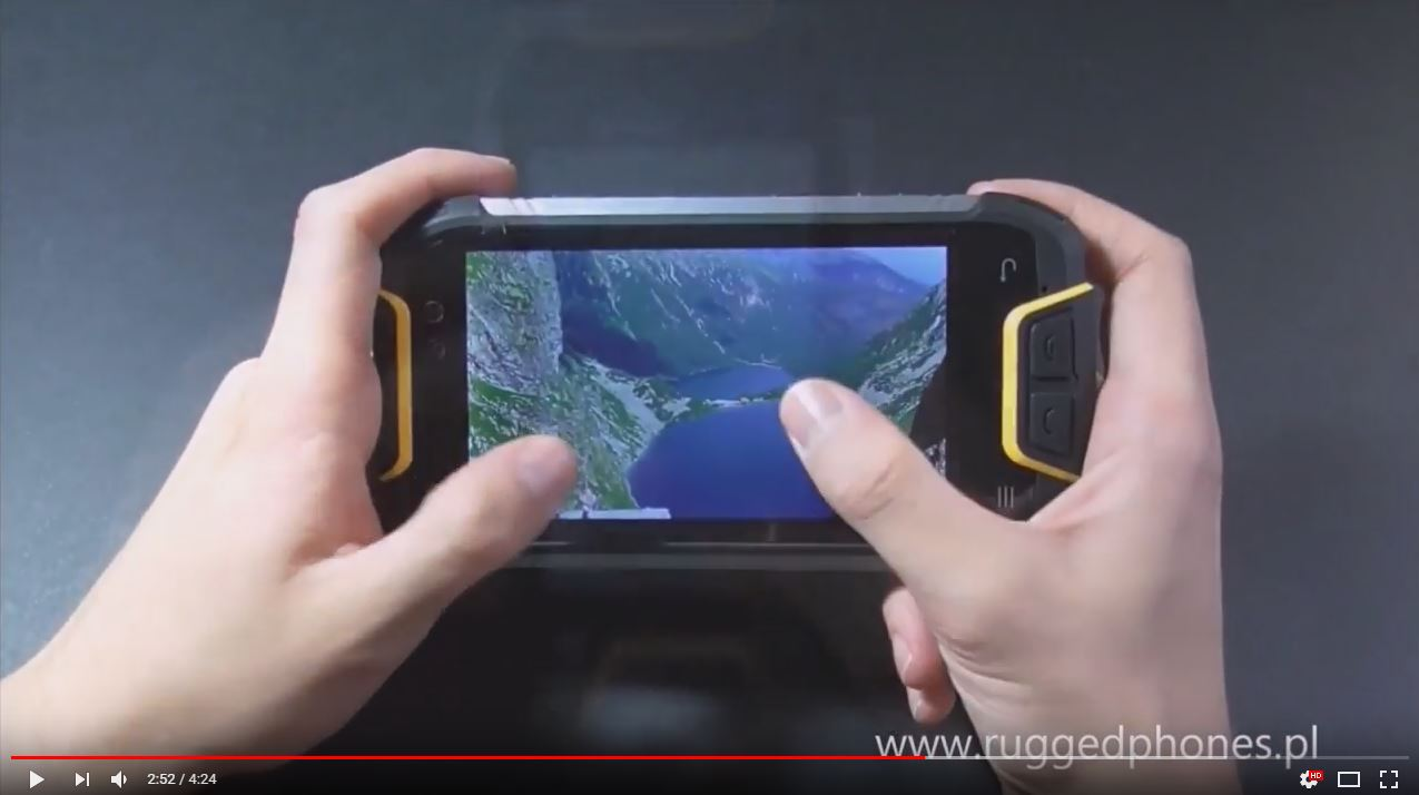 RUGGED PHONES M10 - video prezentacja modelu
